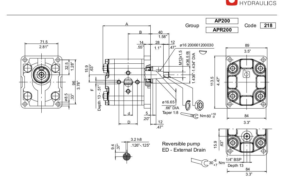 bucher hydraulic pump wiring diagram